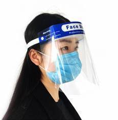 RE-USEABLE FACE SHIELD (5 Pack