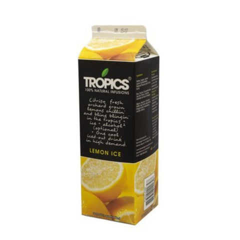 TROPICS LEMON ICE (12 x 32 oz)