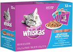 WHISKAS CHOICE CUTS SEAFOOD 4x12 PACK