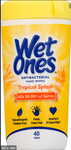 WET ONES AB TROPICAL 40CT x 12Pack