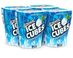 ICE CUBE PEPPERMINT CHEWING GUM BOTTLE 3.24oz x 4Pack
