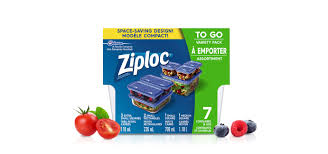 ZIPLOC CONTAINER MULTIPACK 7CT x 6Pack