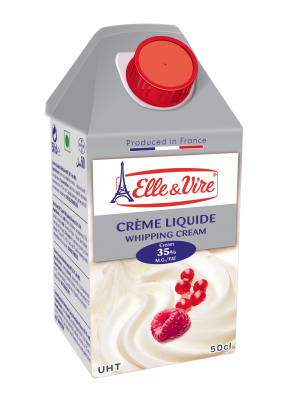 ELLE & VIRE WHIPPING CREAM 35% 50cl x 12 Pack