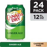 CANADA DRY GINGER ALE, 12 FL OZ CANS, 12 CT (24 PACK) | Divico Cash & Carry Sint Maarten
