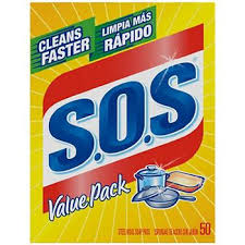 SOS SOAP PADS 50 Pack