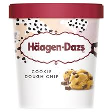 HÄAGEN-DAZS COOKIE DOUGH PINT (8X 460ML)