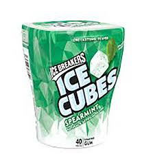 HS ICE CUBE SPEARMINT BOTTLE 3.24oz. X 4Pack