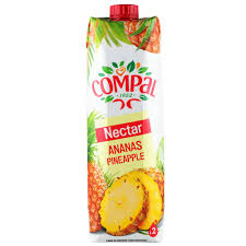COMPAL PINEAPPLE 1L x 12 Pack