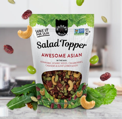 MODERN MILL AWESOME ASIAN SALAD TOPPERS (6 x 6oz)