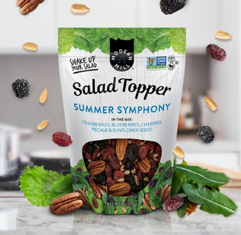 MODERN MILL SUMMER SYMPHONY SALAD TOPPERS (6 x 6oz)