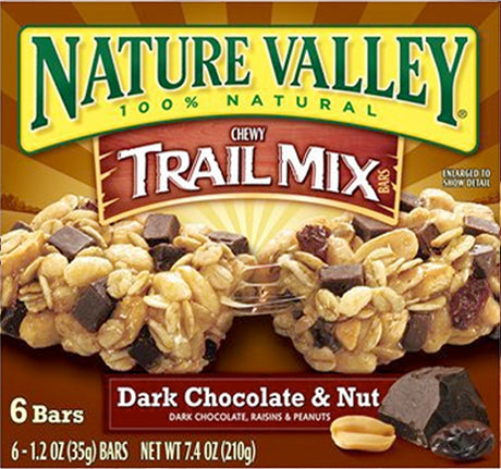 NV GRANOLA ChEWY DARK CHOCOLATE BARS 8.9OZx6 (12X6Pack