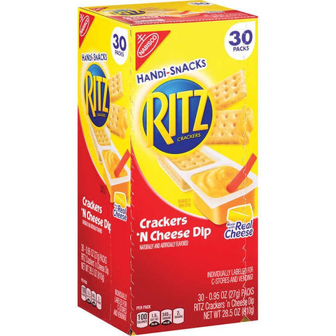RITZ HANDI SNACKS 30 Pack