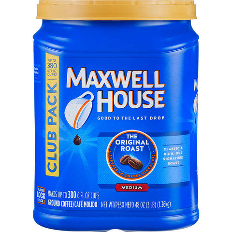 MAXWELL HOUSE ORIGINAL GROUND COFFEE 48OZ