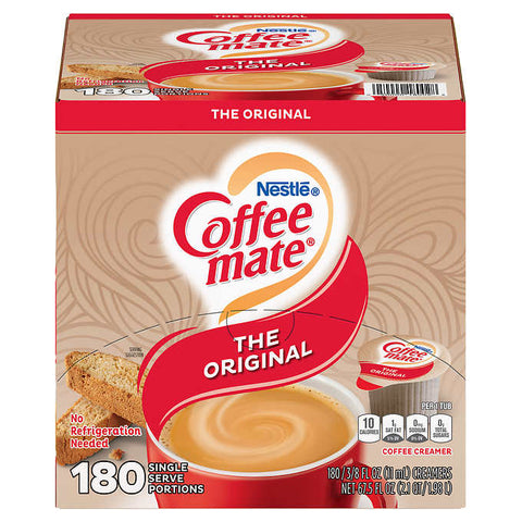 NESTLE COFFEE MATE ORIGINAL LIQUID -180 CT