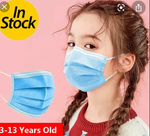 3 PLY SURGICAL KIDS MASK 50 COUNT