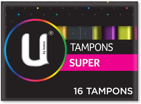 KOTEX TAMPON SUPER x16 - 6 PACK