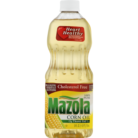 MAZOLA CORN OIL 24ozx12Pack