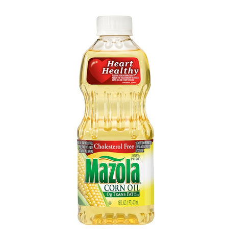MAZOLA CORN OIL 16oz x 24 Pack