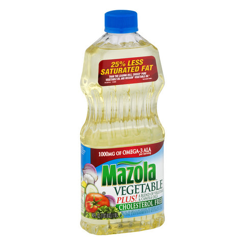 MAZOLA VEGETABLE OIL 24OZx12Pack
