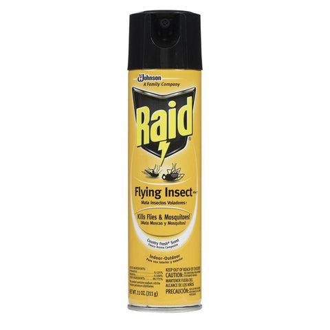 RAID FLYING INSECT 11OZ 12Pack