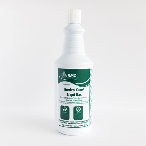 RMC ENVIRO CARE LIQUI BAC DRAIN AND GREASE CLEANER (12 x 1QT)
