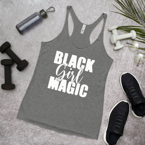 Black Girl Magic Racerback Tank