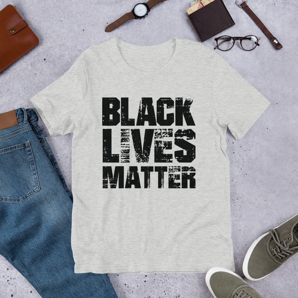 Black Lives Matter Textured Tee