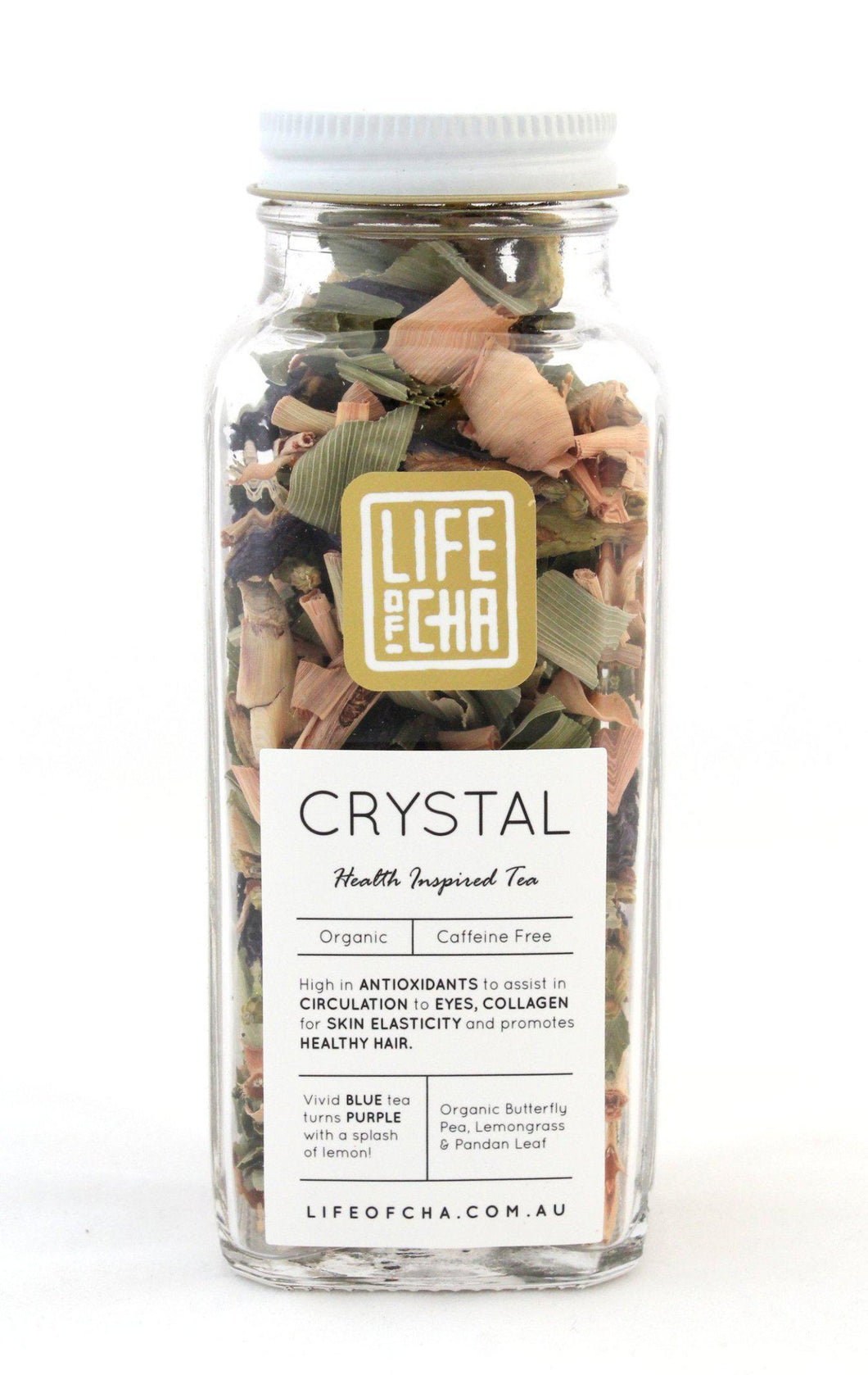 Life of Cha - Organic Butterfly Pea Tea Crystal