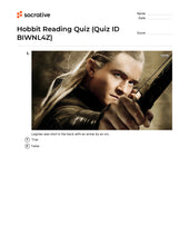 Load image into Gallery viewer, Hobbit Reading Quiz