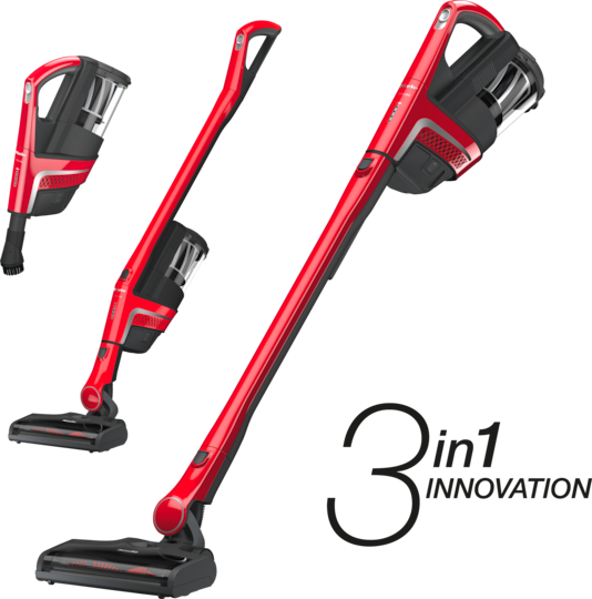 Miele Homecare Triflex HX1 3-In-1 Cordless Stick Vacuum - SMUL0 - Ruby Red