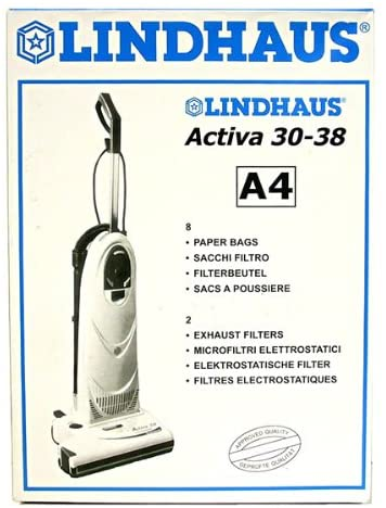 Lindhaus Type A4 Vacuum Cleaner Bags