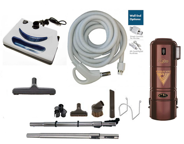 Cyclovac H2015 Complete Central Vacuum Package with EL5 Power Head