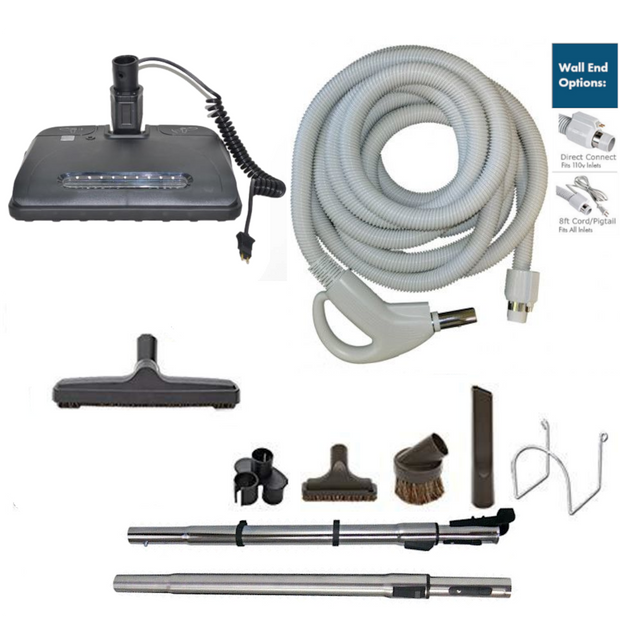 Supervacuums Central Vacuum Attachment Kit with EL6 Powerhead