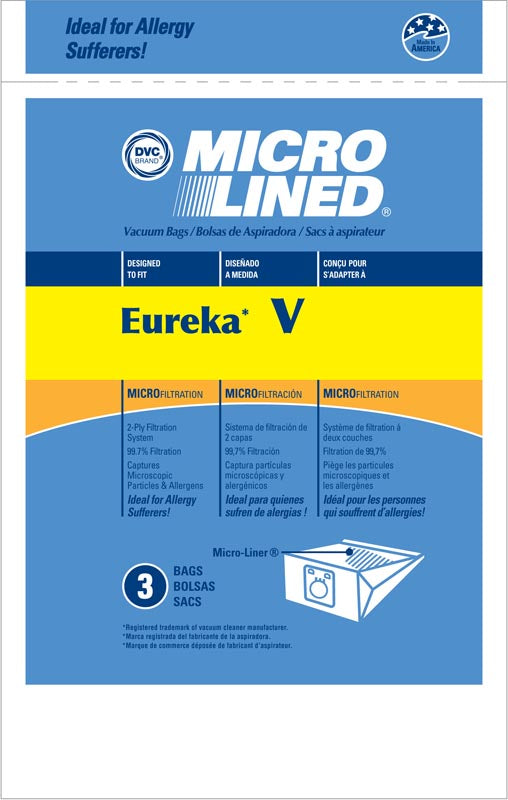 3 Eureka Allergy V Vacuum Power Team Powerline Canisters World Vac Home Cleaning