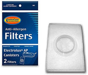 EnviroCare Replacement Canister HEPA Filter for Electrolux AP Canisters - 2 Pack
