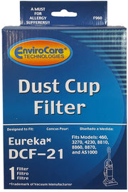 EnviroCare DCF-21 HEPA Filter for Eureka Upright Vacuums