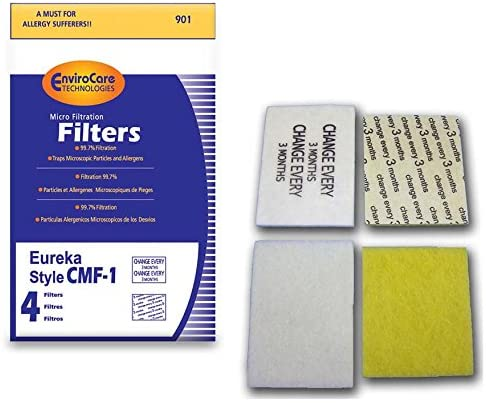EnviroCare Replacement Eureka Style CMF-1 Vacuum Cleaner Filter - ER-1840