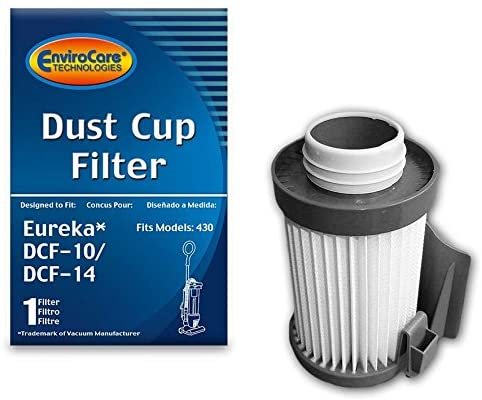 EnviroCare Replacement HEPA Dust Cup Filter for Eureka DCF-10 & DCF-14