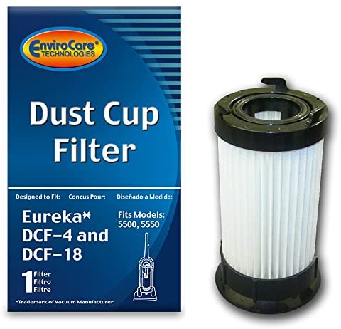 EnviroCare Replacement HEPA Dust Cup Filter for Eureka DCF-4 & DCF-18