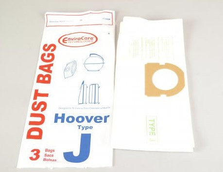 EnviroCare Vacuum Bags for Hoover Type J Constellation Canister Vacuums - 3 Pack