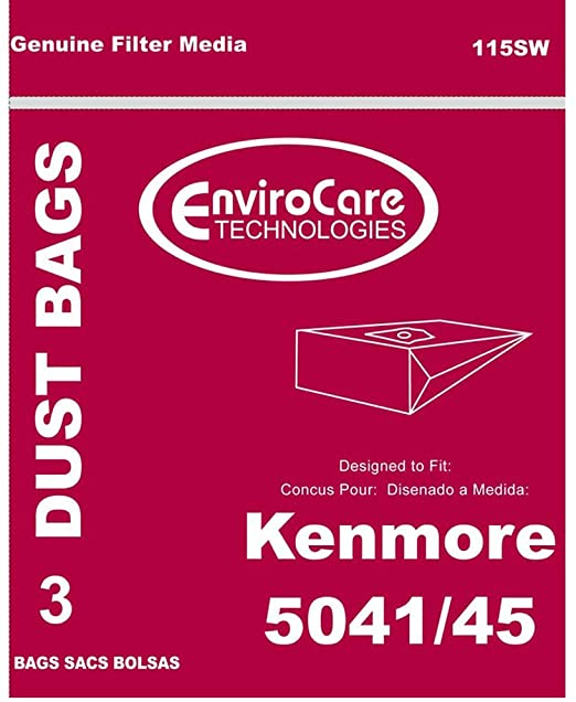 EnviroCare replacement Kenmore Vacuum Bags for 5041 and 5045