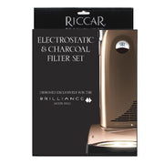 Riccar Brilliance Electrostatic and Charcoal Vacuum Cleaner Filter Set - RF5D