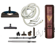 Complete Riccar Central Vacuum Package with H215 Power Unit