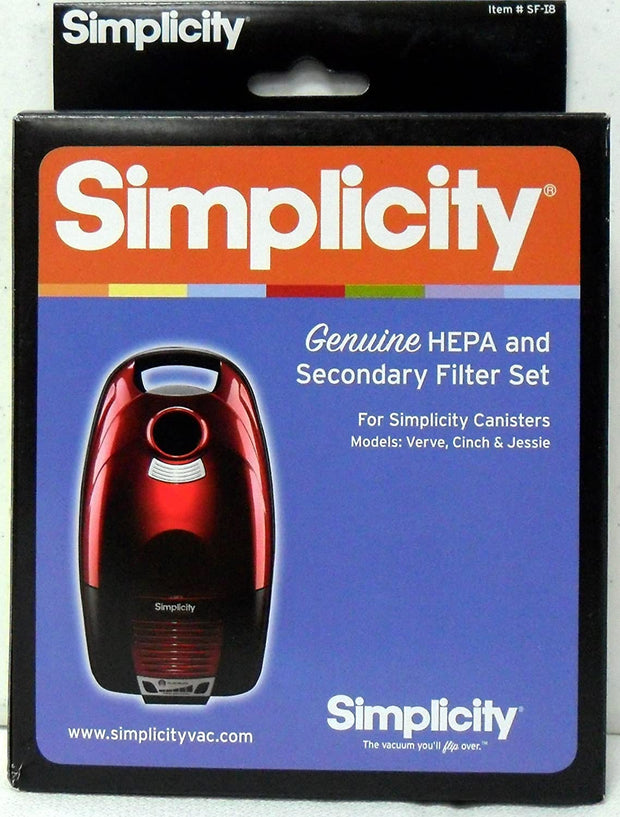Simplicity Canister SF-I8 Filter set