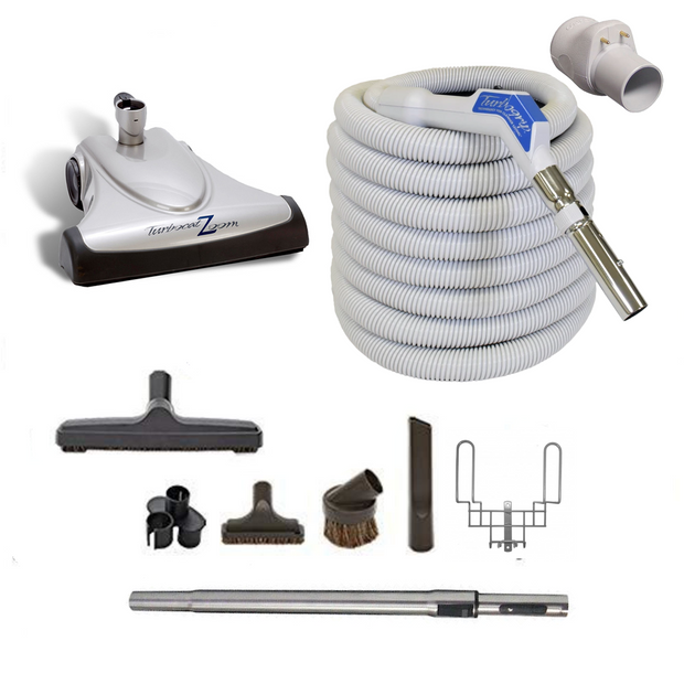 Vacuflo Turbocat Zoom & 35' TurboGrip Hose Attachment Kit for Central Vacuum Systems