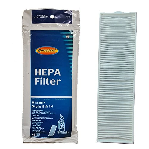 EnviroCare Bissell Replacement HEPA Filter for Bissell Style 8 & 14 Uprights