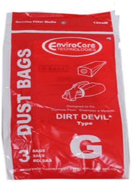 EnviroCare Replacement Style G Vacuum Bags for Dirt Devil & Royal