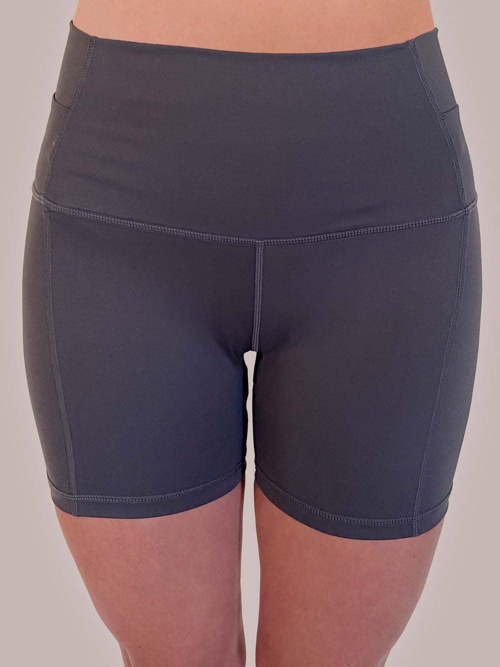 Koala Grey Yoga / Bike Shorts