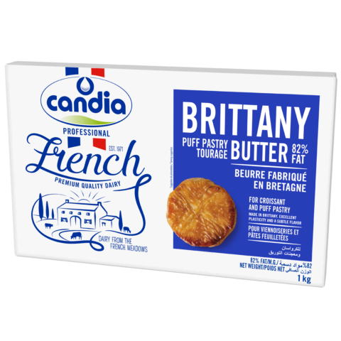 Brittany Butter 82% Fat, Candia