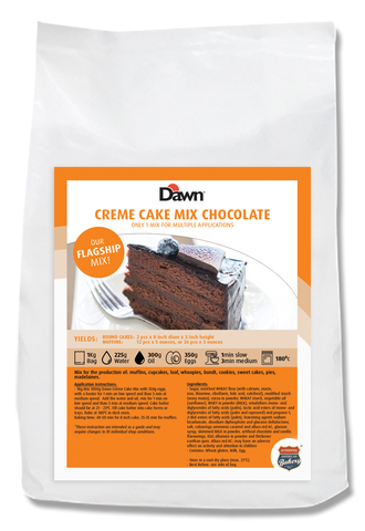 Chocolate Cream Cake Mix
